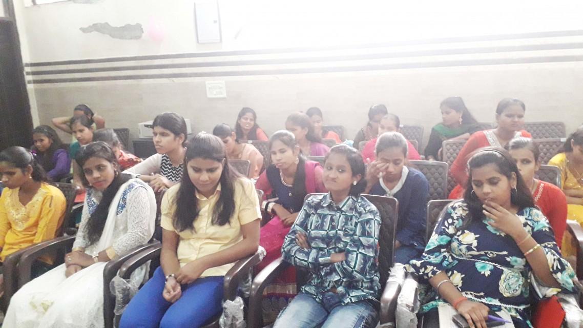 WORKSHOP FOR BLIND STUDENTS SEEKING ADMISSION AT DELHI UNIVERSITY